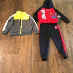 Other - ❤️Boys size 4, NWT Spider-Man outfit